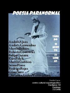 Poesía paranormal